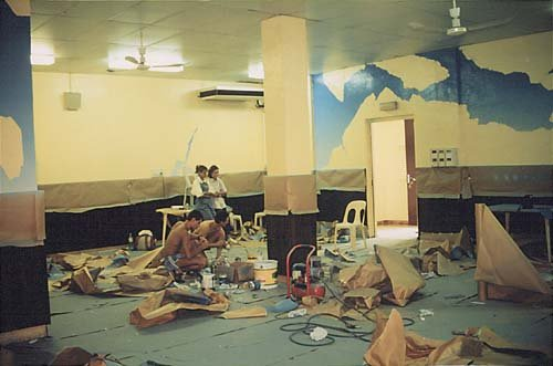 peinture murale 2 salle 2