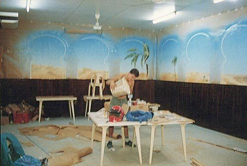peinture murale 2 salle 3