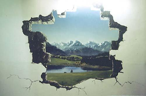 peinture murale 2 salle 1