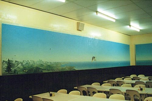 peinture murale 1 salle 4