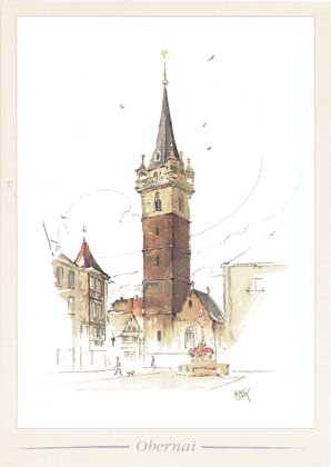 kappelturm à Obernai 1997