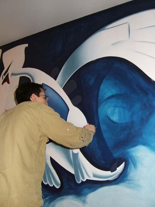 peinture 11 lugia