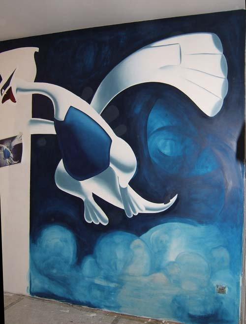 peinture 12 lugia